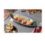 Bon Chef 966054 Custom Cut Tile Tray w/  Cutout for (1) 5218, Stainless