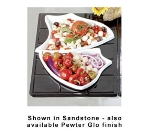 Bon Chef 9664P Custom Cut Single Tile for (1) 70008 & (1) 70007, Aluminum/Pewter-Glo