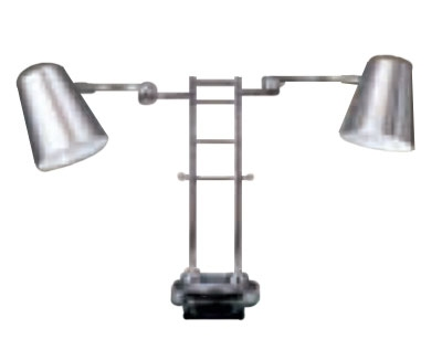 Bon Chef 9684 Adjustable Heat Lamp, 24-in Maximum Height, 110 V
