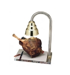 Bon Chef 9692 Carving Station w/  Heat Lamp, Brass Shade, Stainless