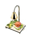 Bon Chef 9694CH Carving Station w/  Heat Lamp, Chrome Shade, 24 x 18 x 30.5-in