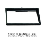 Bon Chef 9701S BLK Side Angle Riser, 13-1/4 x 21-5/8-in, Aluminum/Black