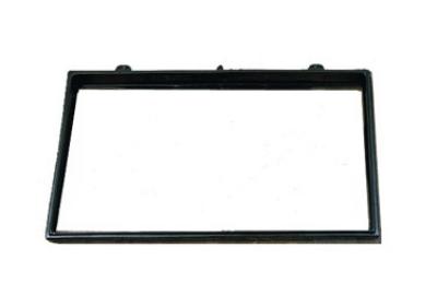 """Bon Chef 9708S BLK Triple Size Riser, 21.5 x 41"""", Aluminum/Black"""