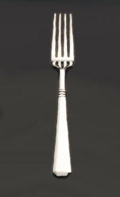 Bon Chef S3407 Salad Dessert Fork, Cordoba, 18/10 Stainless Steel