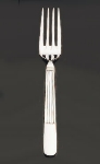 Bon Chef SBS3606S Euro Dinner Fork, Apollo, Silverplated