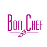 "Bon Chef 9463HF 9-3/4"" Serving Spoon - Solid, Hammer Finish, 18/8 Stainless"