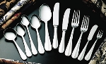 Bon Chef SBS107S Salad Dessert Fork, Monroe, 18/0 Silverplated