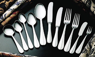 Bon Chef SBS107S Salad Dessert Fork, Monroe, Silverplated
