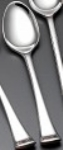 Bon Chef SBS3201S Bouillon Spoon, Aspen, Silverplated Bonsteel
