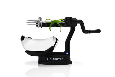 Yum Tools ZIPZESTER Zip Zester w/ 1-Zest & 1-Bar Garnish Blades