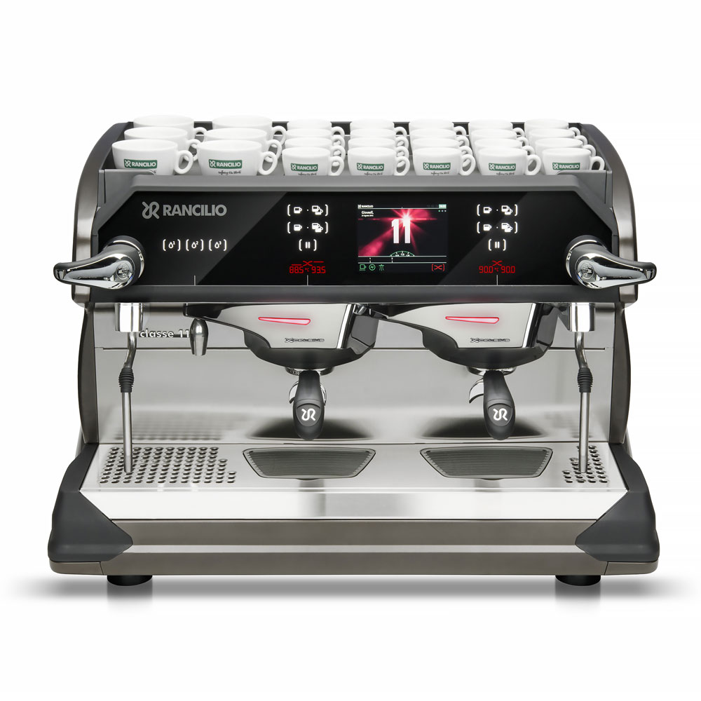 Rancilio CLASSE11USB2 Automatic Espresso Machine w/ 2 Group Heads, 11-Liter Boiler, 220-240v/1ph