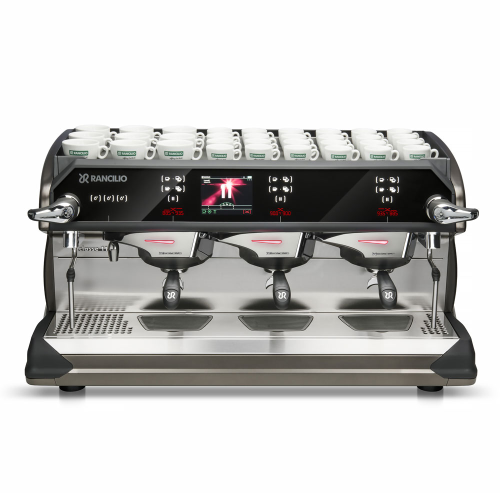 Rancilio CLASSE11USB3 Automatic Espresso Machine w/ 3 Group Heads, 16-Liter Boiler, 220-240v/1ph