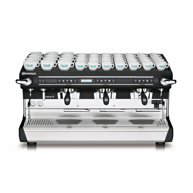 Rancilio CLASSE 9 USB3 TALL Classe 9 Fully Automatic Tall Espresso Machine w/ 16-Liter Boiler, 208-240v/1ph