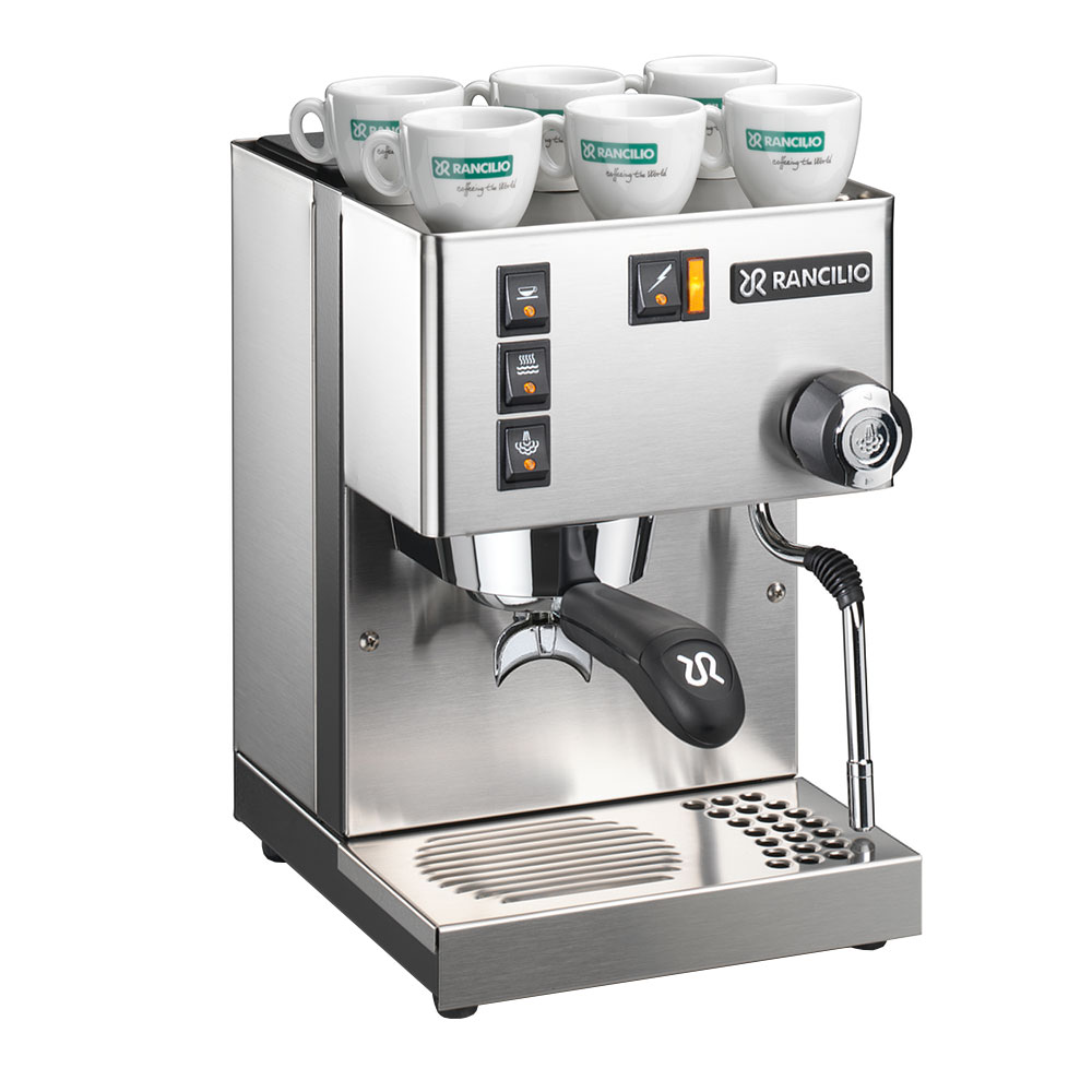 Rancilio SILVIA Semi-Automatic Espresso Machine w/ 2-Dose Filter, 120v