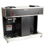Bunn VPS Pourover Coffee Brewer, 3 Warmers (04275.0031)