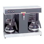 Bunn-o-matic 07400.0005 VLPF Automatic Low Profile Brewer, 2 Warmers, Single Brewer