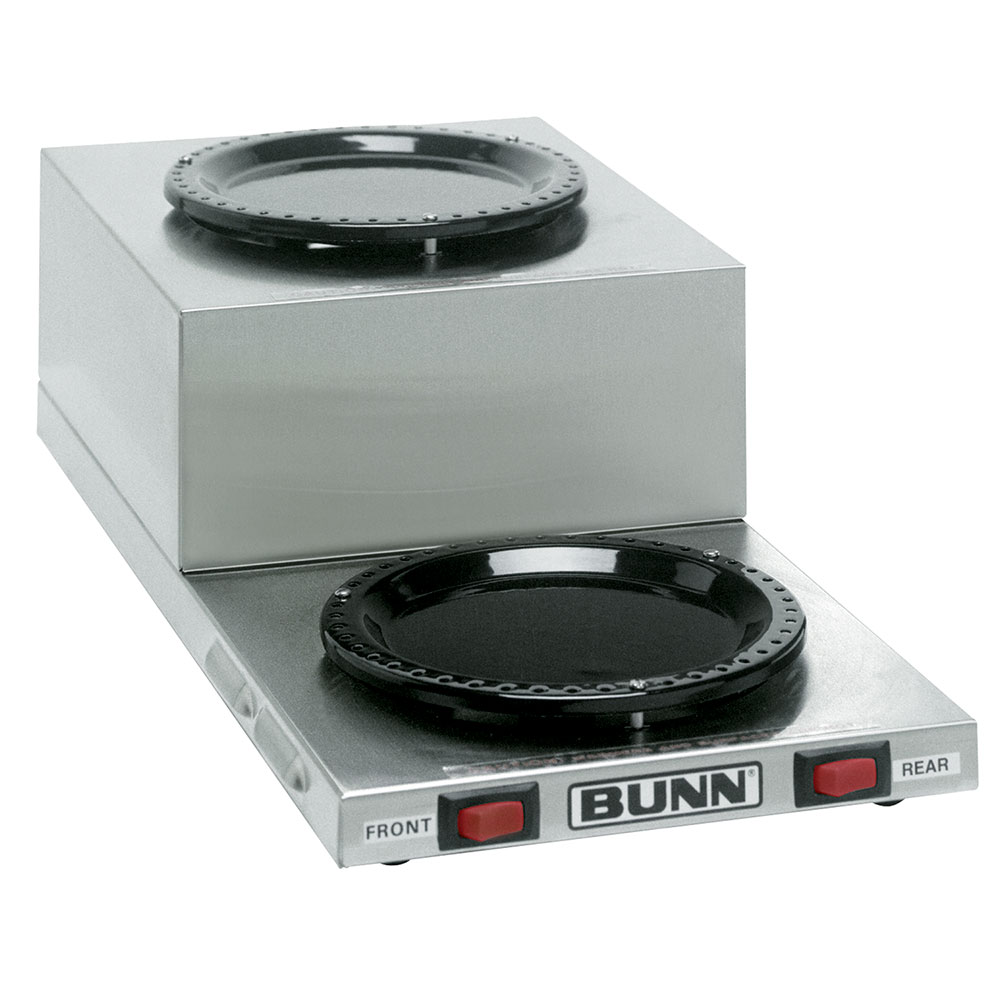 Bunn 11402.0001 WL2 Warmer, Step-Up, S/S Finish, 120V