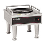 Bunn-o-matic 12203.0014 RWS2 Warmer Stand For 1GPR & 1.5GPR Servers, Satin Nickel Legs