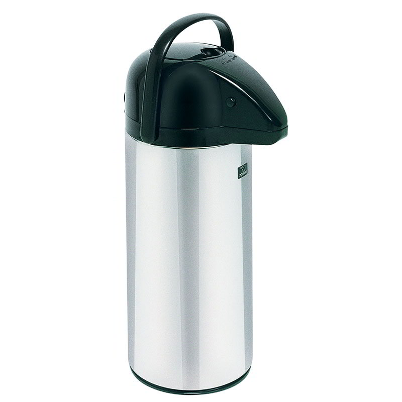 Bunn AIRPOT-2.5P-0001 2.5 Liter Push-Button Airpot, Glass Liner (13041.0001)
