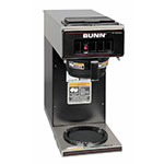 Bunn VP17-1 Pourover Coffee Brewer, 1 Warmer, Black