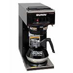 Bunn VP17-1 Pourover Coffee Brewer, 1 Warmer, Black (13300.0011)
