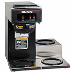 Bunn-o-matic 13300.0013 VP17-3 BLK  Pourover Coffee Brewer, 3 Lower Warmers