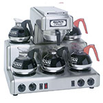 BUNN-O-Matic 20835.0004 RTF Coffee Brewer, Automatic, 5 Warmers, Hot Water Faucet
