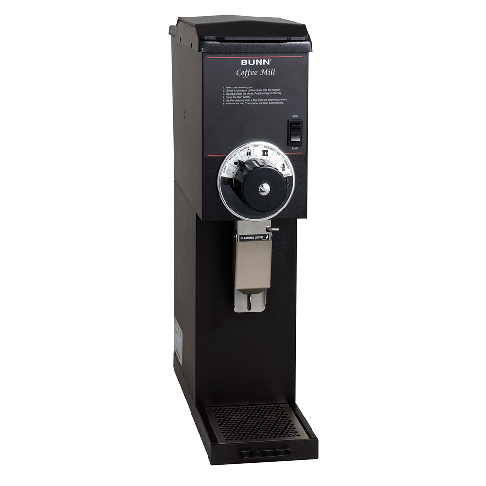 Bunn-o-matic 22100.0000 G3 HD Black Bulk Coffee Grinder, 3 lb Hopper, Black Finish