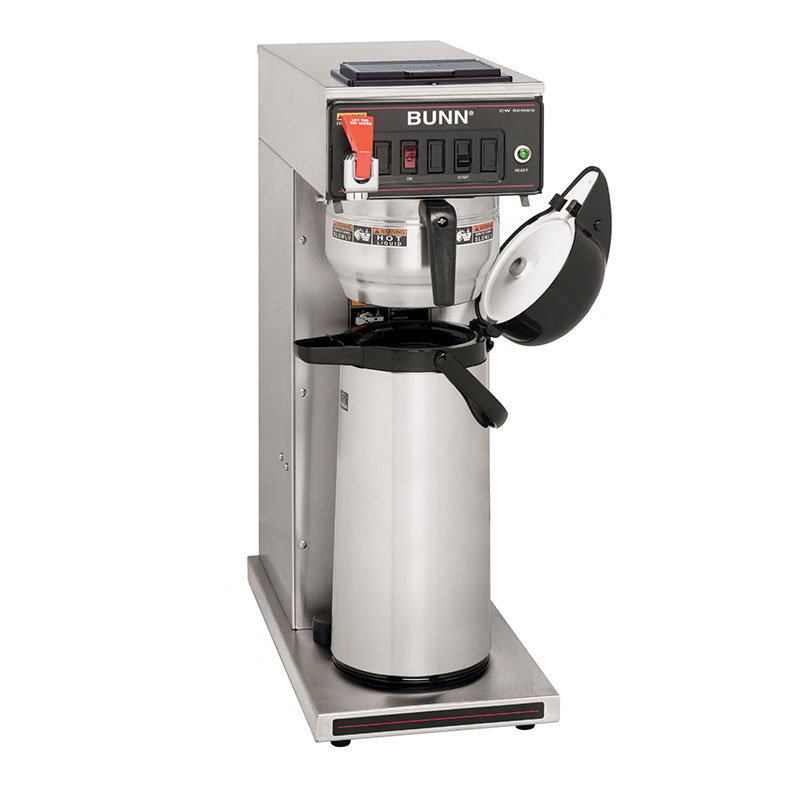Bunn CWTF35-APS-0052 CWTF35-APS Airpot Coffee Brewer, Gourmet Funnel, 120/208-240V (23001.0052)