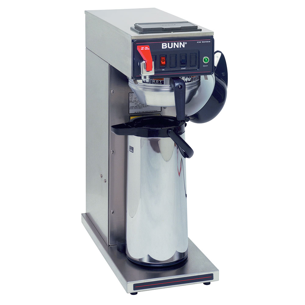 Bunn CWTF-APS-DV-0059 Airpot Brewer, Plastic & Stainless Funnels, Dual Voltage (23001.0059)