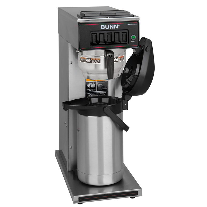 Bunn CW15-APS-0062 CW15-APS Airpot Coffee Brewer, Pourover, Gourmet Funnel, 120V (23001.0062)
