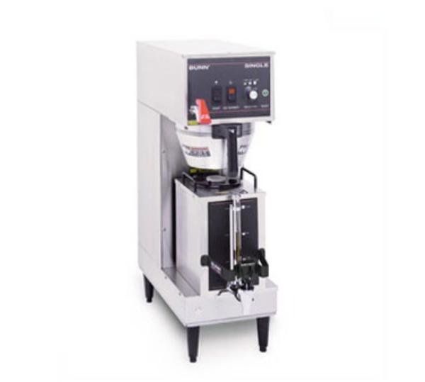 BUNN-O-Matic 23050.0006 Single Satellite Coffee Brewer W/Servers, Plastic Funnel, 120V