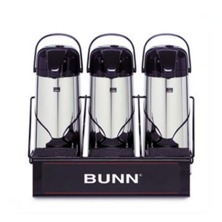 Bunn APR-3-0003 APR3 Airpot Serving Rack, For 3 Push-Button Airpots, 1 Level (25371.0003)