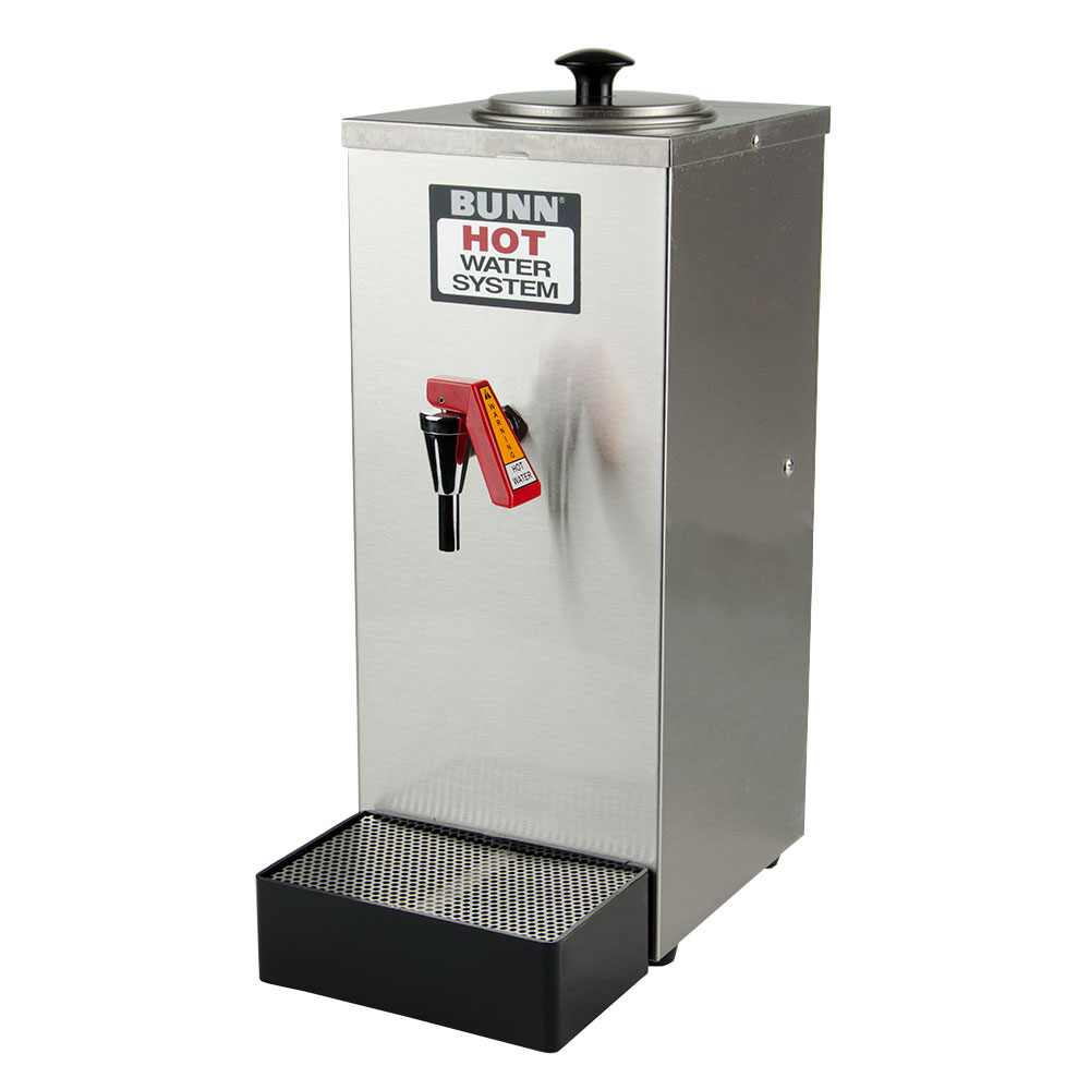 Bunn OHW-0003 Pourover Hot Water Dispenser w/ 200-Setting, 80-oz Tank Size Drip Tray Stainless