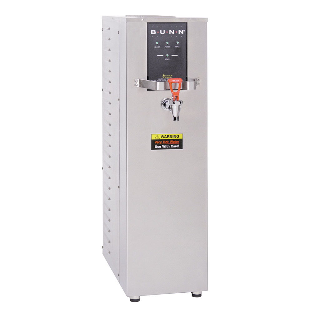 Bunn H10X-0001 10-Gallon Hot Water Dispenser, 212 F, 208 V/40-amp/8000 watt (26300.0001)