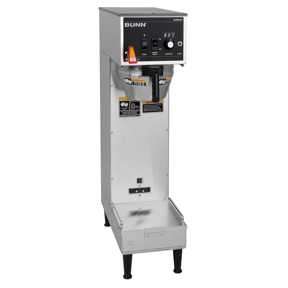 Bunn SH-SINGLE-0001 Single SH Satellite Coffee Brewer w/ 10.6-gal/hr, 120/208v (27800.0001)