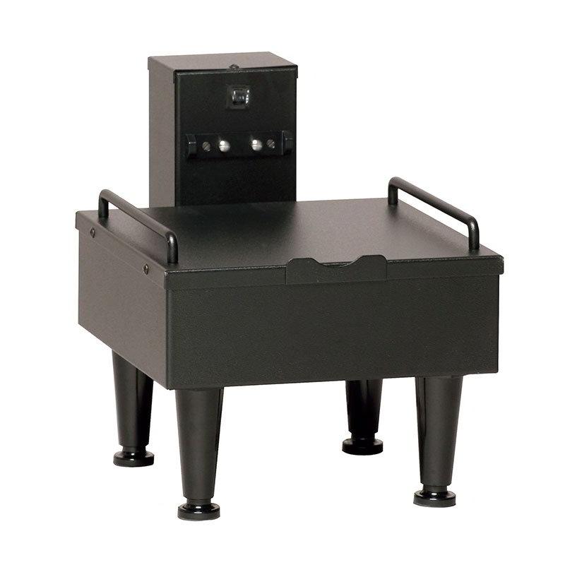 """Bunn SH-STAND-1-0003 1SH Stand for Satellite Coffee Server, Black Finish, 4"""" Adj. Legs, 120V (27825.0003)"""