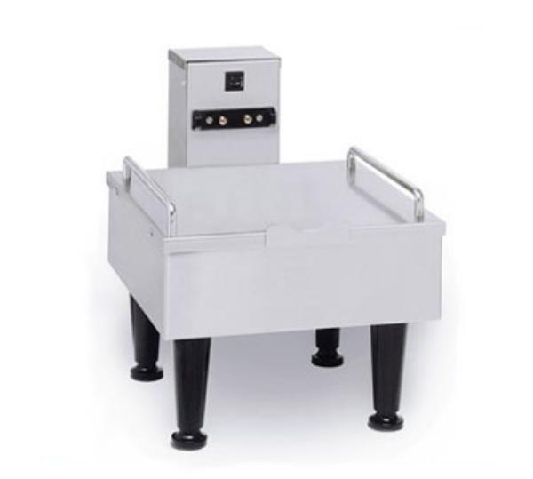 BUNN-O-Matic 27825.0004 1SH Stand For Satellite Coffee Server, Black Finish, 6 in Legs, 120V