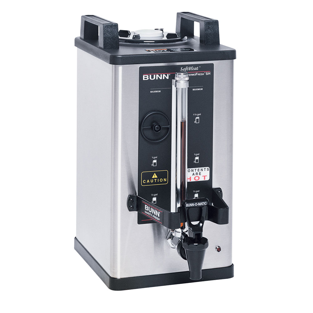BUNN-O-Matic 27850.0006 1.5-Gallon Satellite Brewer Server, 45 Min. Setting, S/S Finish