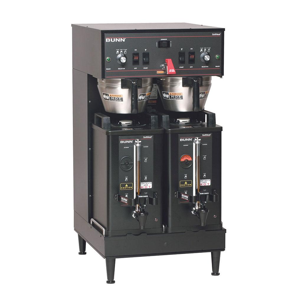 Bunn SH-DUAL-0020 Dual SH Satellite Coffee Brewer, Black Finish, 120-208v/1ph (27900.0020)