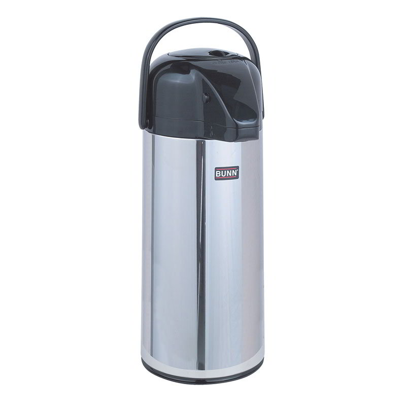 Bunn AIRPOT-2.2P-0002 2.2 Liter Push-Button Airpot, Glass Liner (28696.0002)