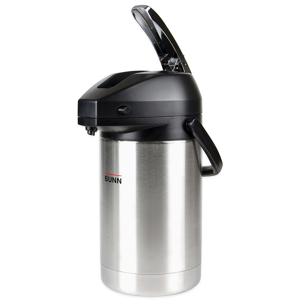 BUNN-O-Matic 32125.0000 2.5 Liter Lever-Action Airpot, S/S Liner