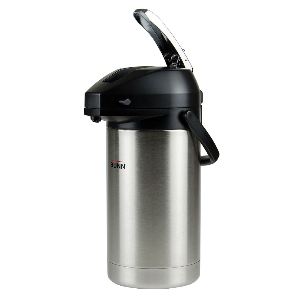Bunn 32130.0000 3.0 Liter Lever-Action Airpot, Stainless Liner