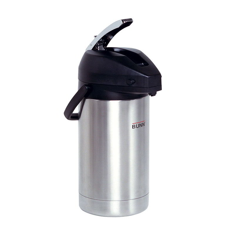 Bunn AIRPOT-3.0L-0100 102 oz Airpot, Lever Action, Stainless Liner (32130.0100)