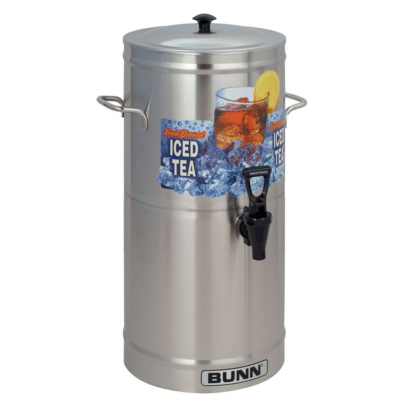 Bunn TDS-3-0000 TDS-3 Iced Tea Dispenser, Cylinder Style, 3 Gallon (33000.0000)