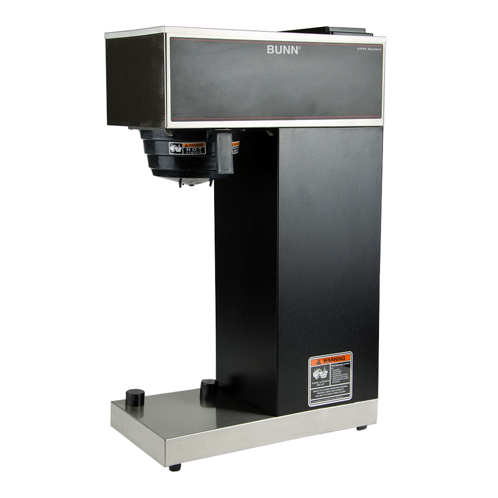 BUNN-O-Matic 33200.0010 VPR-APS Pourover Airpot Brewer, Splash Guard Funnel