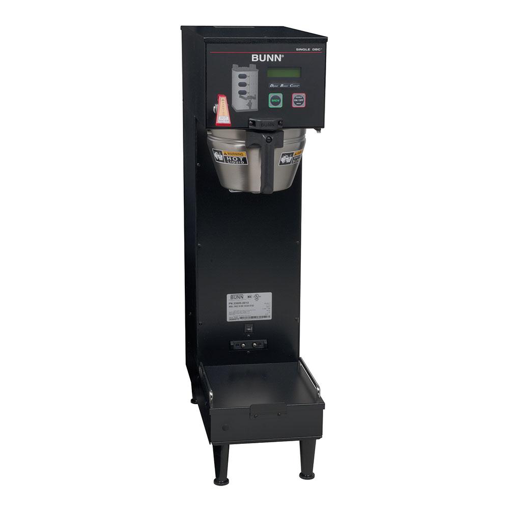 Bunn-o-matic 33600.0013 Single SH DBC, Satellite Brewer, Black Finish, Upper Faucet, 120/240V