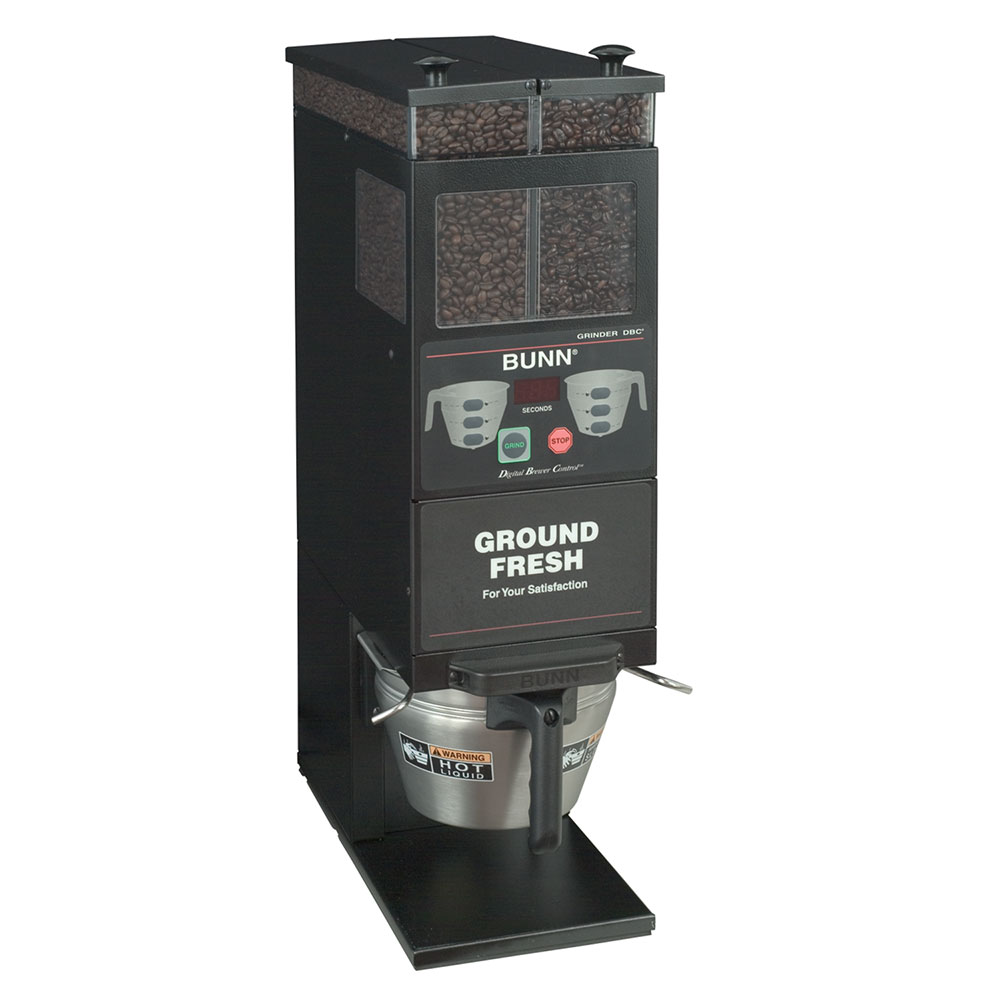 Bunn G9-2T-DBC-0001 Coffee Grinder, 2-Hoppers & Wireless Interface, Black (33700.0001)