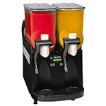 Bunn ULTRA-2-0013 ULTRA-2 Frozen Drink Machine, Black Finish, Flat Lid (34000.0013)