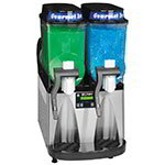 Bunn ULTRA-2-0081 Frozen Drink Machine, 2-Hoppers, Black/Stainless